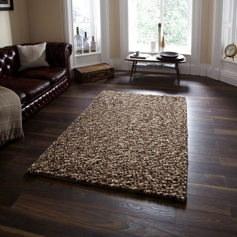 Pebbles Beige Brown Rug From Rugshop Uk Vista Shaggy Rug