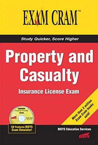 Pdf Download Property And Casualty Insurance License Exam Cram