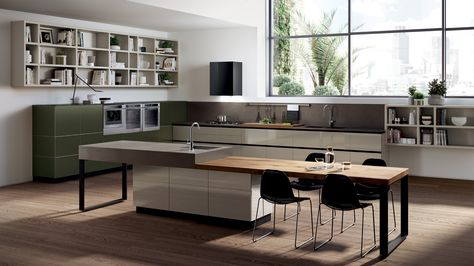 80 best Cucine Moderne images on Pinterest Cook, Beautiful and - italienische kuechen gamma arclinea