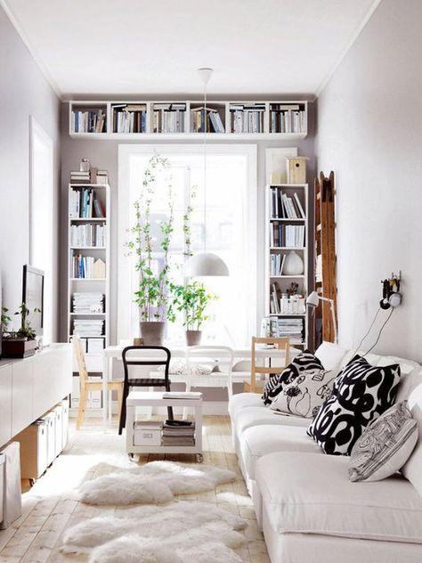 Come arredare un soggiorno piccolo – Foto | Salotti piccoli ...