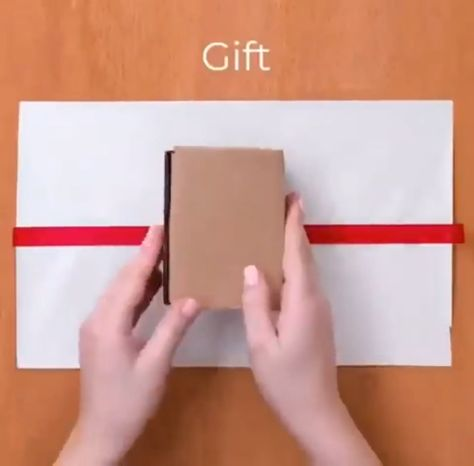 you don't know how to wrap gifts? look at that