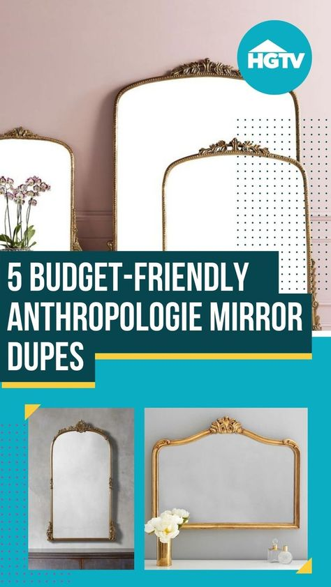 You know that mirror from Anthropologie? You know the one. Even if you don't know its name, you've seen it. Because for the last couple of years, it's been used everywhere in the design world. The only problem is that it comes with a heavy price tag💰, here are 5 budget-friendly dupes so that you can get the same look for a lot less.