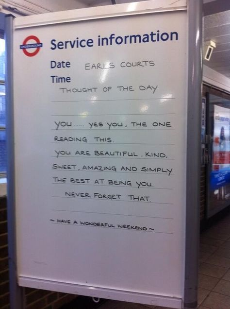 Quite Possibly The Loveliest London Underground Sign Yet