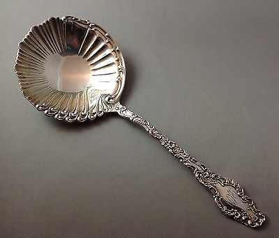 EXCELLENT CONDITION DURGIN WATTEAU STERLING SILVER SERVING SPOON