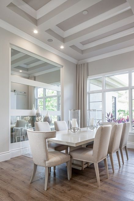 Diningroom Details In Our Modelhome In Quail West Perfect For
