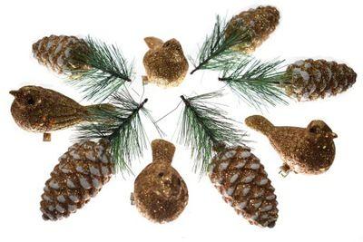 Ptaszki Na Choinke Ozdoby Swiateczne Ozdoba 4784408796 Oficjalne Archiwum Allegro Holiday Decor Cactus Plants Novelty Christmas