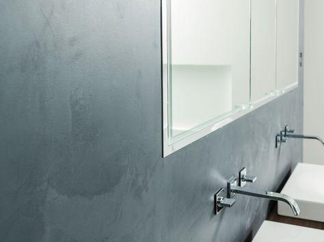 fugenlose Bäder ohne Fliesen in Betonoptik    wwwmalerische - badezimmerwände ohne fliesen