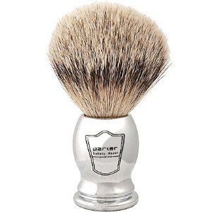 Parker Safety Razor 100% Silvertip Badger Bristle Shaving Brush (Chrome Handle) http://beststraightrazor.net/