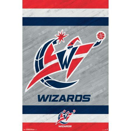 Washington Wizards - Logo 14 Poster Mount Bundle, Size: 22.375 inch x 34 inch, Multicolor