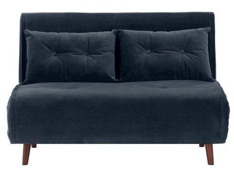 Haru Kleines Schlafsofa Buttergelb Kleines Sofa Bettsofa Single Couch