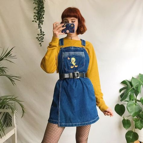 Retro Outfits, Vintage Outfits, Cool Outfits, Summer Outfits, Casual Outfits, Vintage Fashion, Cute Fashion, Look Fashion, 90s Fashion
