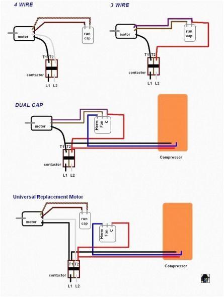wiring diagram for capacitor  fan motor ceiling fan wiring