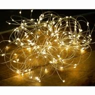 sports shoes 063c7 9f1bf Solar Powered Micro LED Wire String Lights 200pk | Outdoor ...