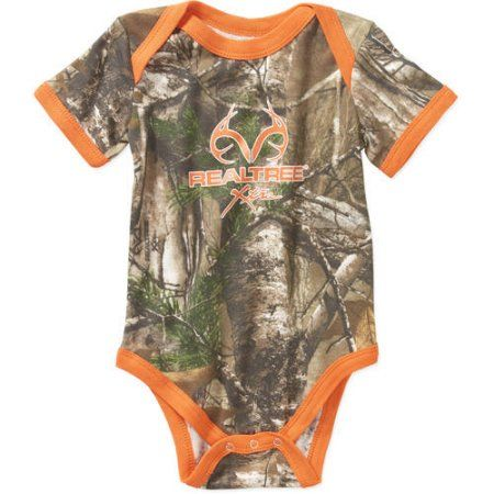 Realtree baby boy One Piece Bodysuit creeper