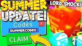Summer Secret Pet Egg Update Codes In Bubble Gum Simulator Roblox
