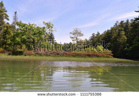 Maine Coastal Landscapes Ocean Water Channels Coastal Landscape Landscape Coastal