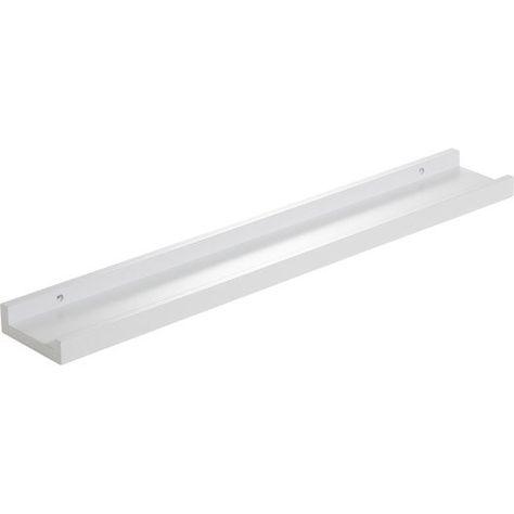 Etagère Pour Cadre Photo Blanc Astuce Duraline L 60 X P 9