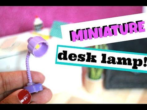 DIY Miniature Lamp - YouTube