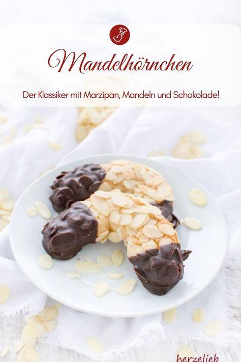 Mandelhornchen Rezept Fur Den Kuchenklassiker Mandelhornchen Rezept Marzipan Rezept Kuchen Rezepte
