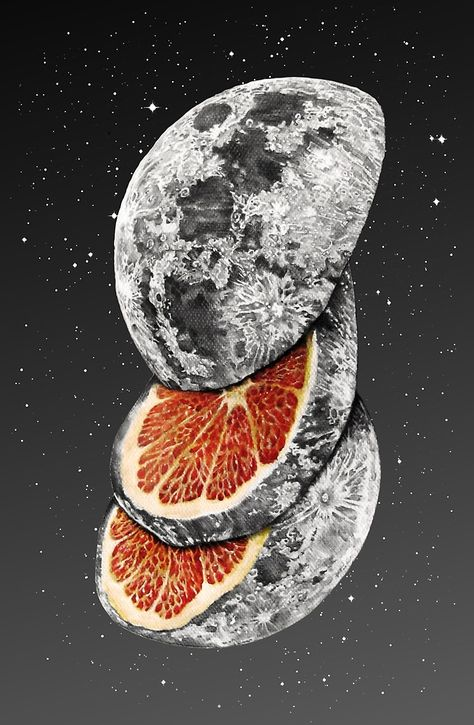 """Lunar Fruit"" Art Print by J.P Ormiston on ""Lunar Fruit"" Kunstdruck von J.P Ormiston on Pin: 700 x 1072 Psychedelic Art, Artwork, Collage Art, Art Inspo, Fruit Art, Art Prints, Art, Fruit Art Print, Art Inspiration"