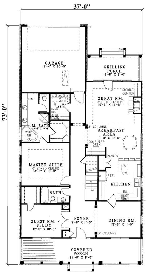 floorplans+with+rear+garage   need to flip the floor plan view mirror reverse