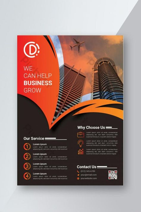 Modern Corporate Flyer Design Template | AI Free Download - Pikbest