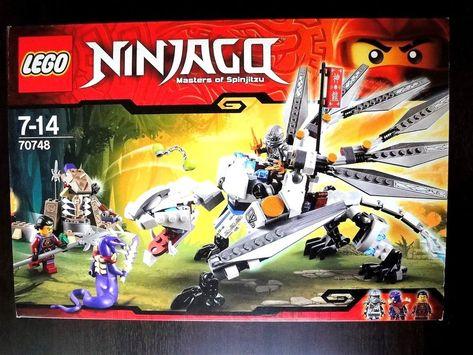 6a3a9da989812 Gift !! Spotless & New ! Lego NINJYAGO Titanium Dragon 70748 Factory ...