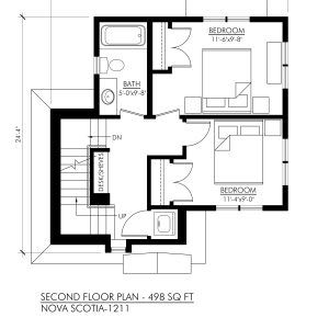 Nova Scotia 1211 Robinson Plans House Plans Small House Plans Tiny House Design