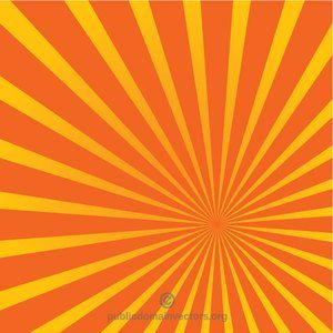 Publicdomainvectors Org Radial Stripes Yellow Red In 2020 With