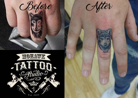 List Of Pinterest Vinger Tattoo Wolf Awesome Pictures