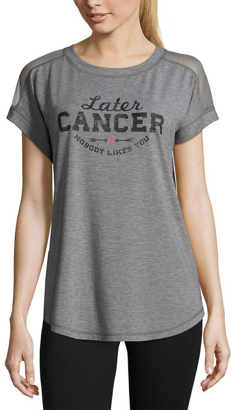 68a9335d Xersion Breast Cancer Awareness Dolman T-Shirt | Breast cancer awareness