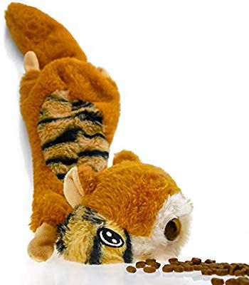 Pet Supplies Vitscan Squirrel Dog Squeaky Toys No Stuffing