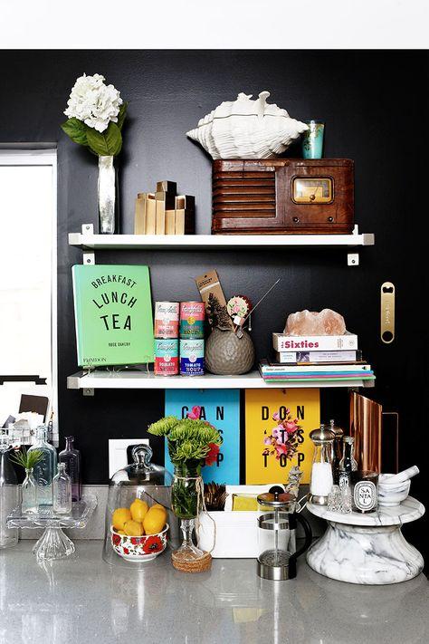 bold kitchen decor #kitchen #theeverygirl