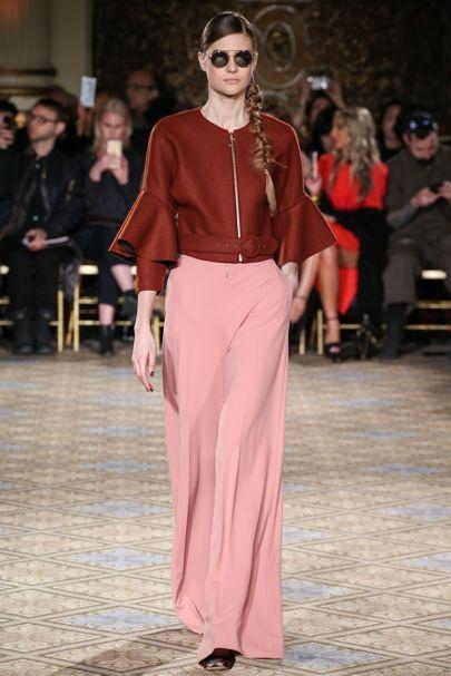 Christian Siriano Fall New York Fashion Week.