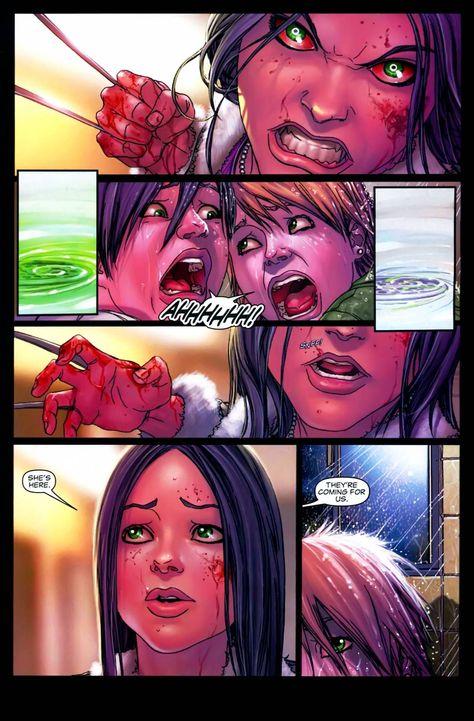 Domino vs. X-23