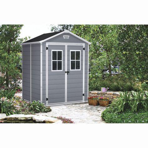 L Abri De Jardin Keter En Resine Est Le Rangement Ideal Pour Vos Objets De Plein Air Optez Pour Cet Abri Dont La Structure En Alu Abri Jardins