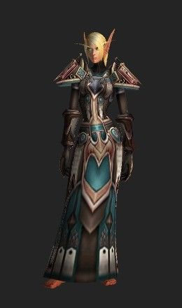 Paladin Judgement armor set, recolor  | World of Warcraft