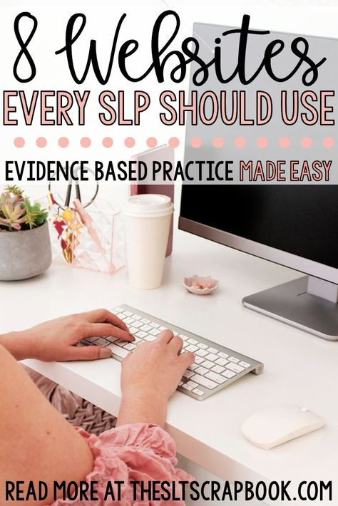 Staying up-to-date with EBP is crucial in order for SLPs to deliver safe and effective care. But finding and accessing … Speech Pathology, Speech Therapy Activities, Speech Language Pathology, Speech And Language, Play Therapy, Therapy Ideas, Speech Room, Preschool Songs, Primary Music