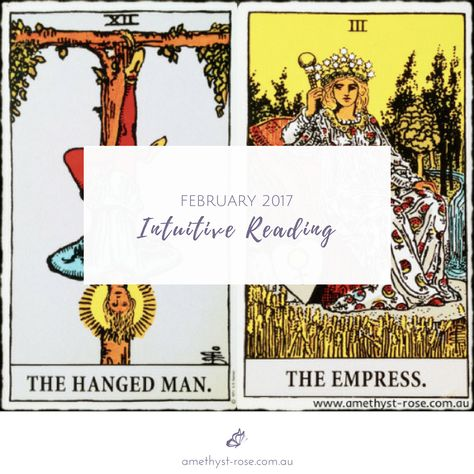 The February #IntuitiveReading has been posted on our blog :)  Happy February lovely ones   <3 Vanda xx  #MonthlyReading #MonthlyEnergies #GeneralReading #Tarot #HealingWithTheTarot #InsightsFromTheTarot #WisdomOfTheTarot #TarotNumerology #ReadingsWithVanda #EmailReadings #WorldwideReadings #ARNAPS #ARNAPSreadings #ARNAPSblog #TheHangedMan #TheEmpress