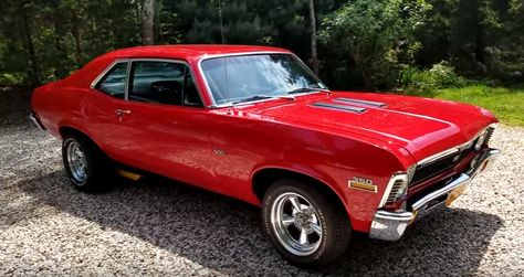 Gorgeous 1972 Chevy Nova SS 350 Although this is not an original SS car, this 1972 Chevy Nova SS clone is executed very well and will be admired at both the car shows and the drag strip!