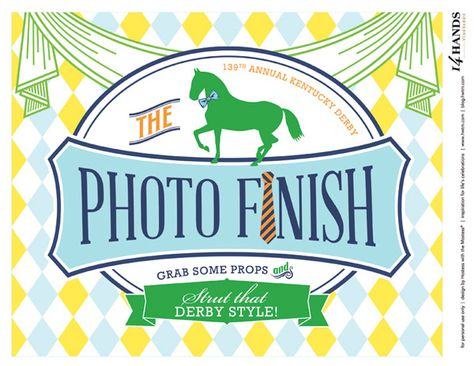 photo booth signs at derby party - Google Search