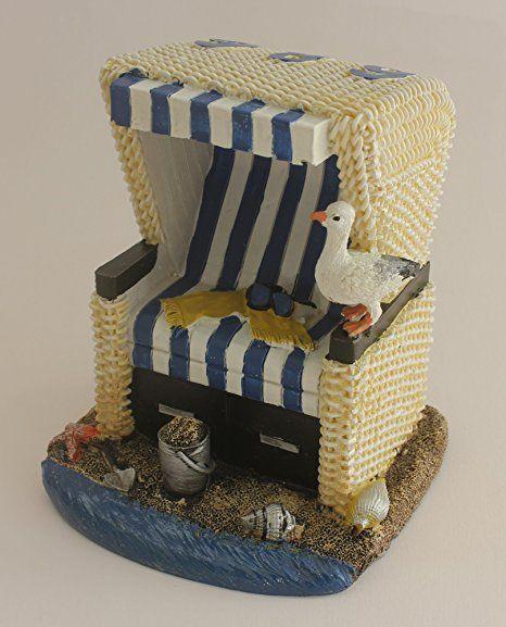 Deko Strandkorb Blau Weiss 12 Cm Garten Ideen Gestaltung Garten