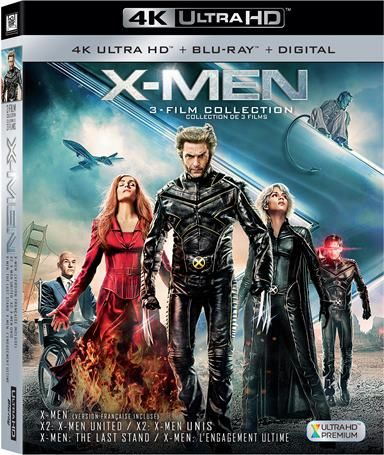X Men Trilogy Box Set 4k Ultra Hd Review X Men Blu Ray Discs Dvd