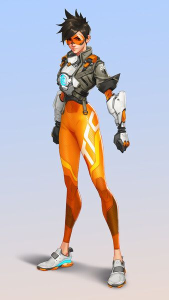 Overwatch 2 Tracer 8k Hd Mobile Smartphone And Pc Desktop Laptop Wallpaper 7680x4320 3840x2160 1 Overwatch Drawings Overwatch Tracer Overwatch Wallpapers