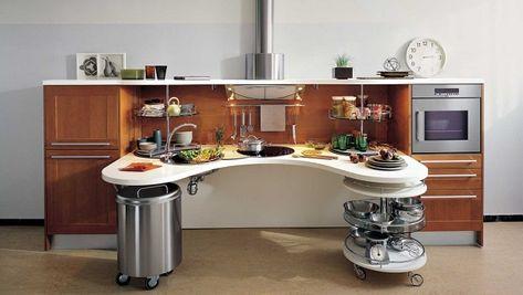 Une Cuisine Moderne Et Ergonomique Adaptee Aux Personnes En