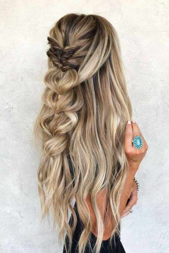 30 Ideas Of Unique Homecoming Hairstyles Lovehairstyles Homecoming Hairstyles Wedding Hairstyles For Long Hair Thick Hair Styles