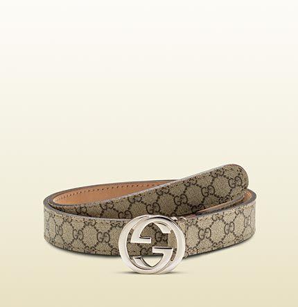 2dded414b kid's belt with interlocking g buckle | Baby boys | Gucci, Gucci online,  Belt