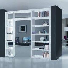 libreria bifacciale divisoria - Cerca con Google | libreria ...