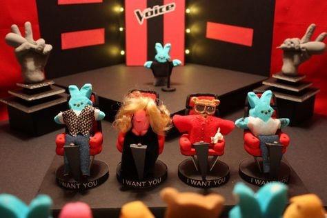 The Voice of Peeps - Marshmallow Peeps Contest: Pop culture scenes made out Peeps - NY Daily News