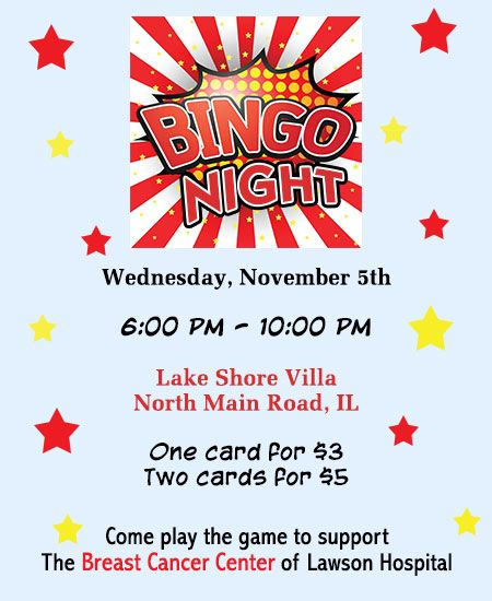 10 Great Ideas to Organize a Bingo Fundraiser Organizing - fundraiser invitation